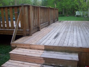 Protect Your Olathe Deck from Greying