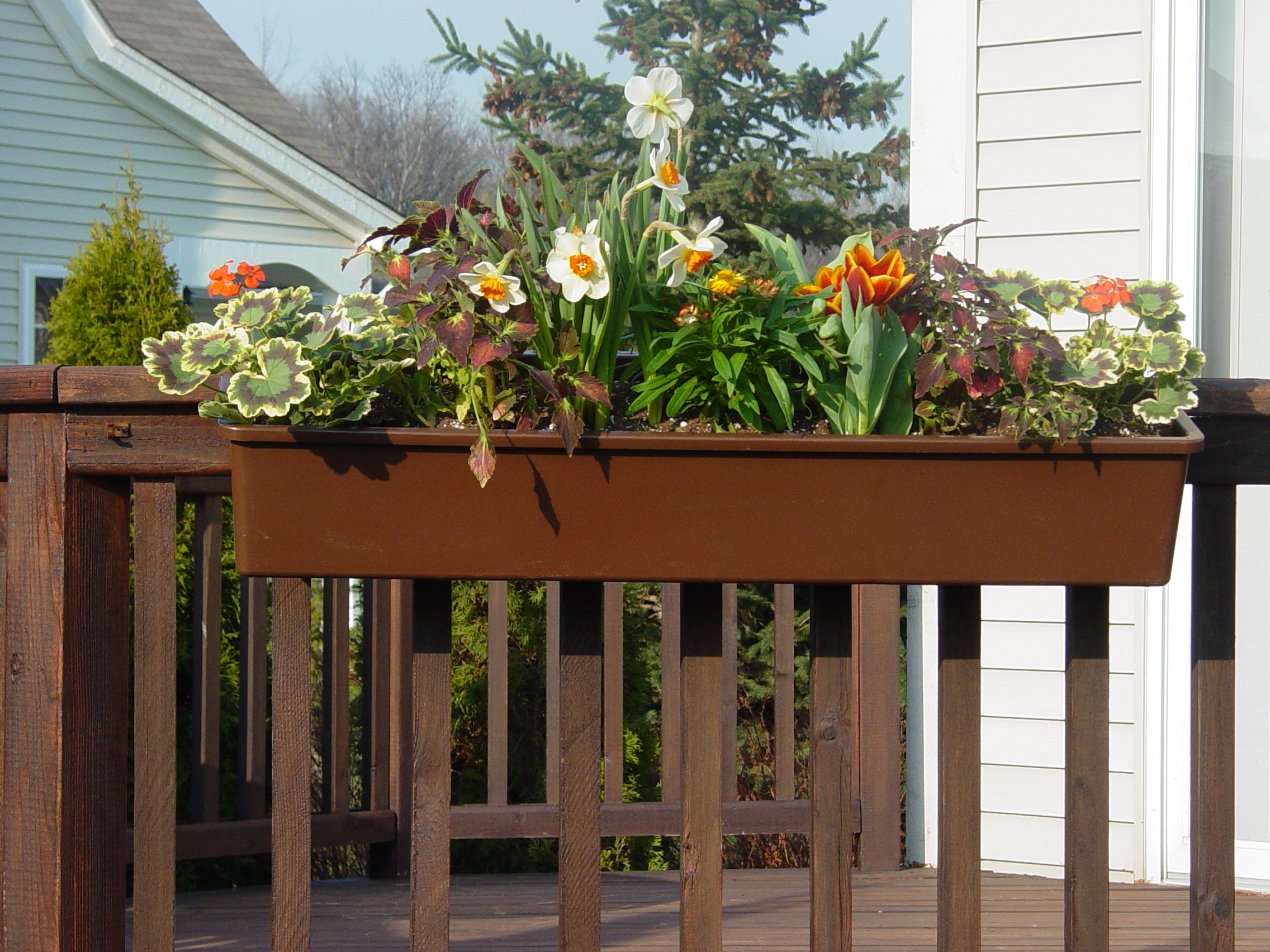 Install A Hanging Deck Box For Spring And Summer Deck