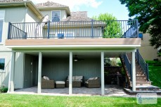 Back Deck Patio & Under Deck Ceiling – Parkville, MO