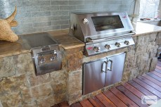 Multi-Level Deck & Screened-In Outdoor Kitchen