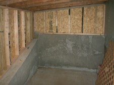 Composite/Weathered Wood with Enclosed Storage Space underneath-Mission, KS