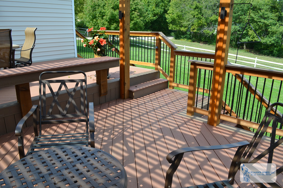 ... Split Level Deck With Patio ...