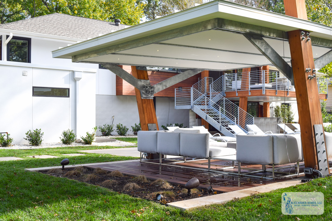 Incredible Home Exterior Renovation, Deck Installation, Home Addition And Pool  Patio In Leawood   Deck Builders Kansas City