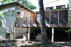 Screened in Porch with Composite Deck – Lake Quivira