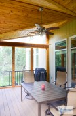 Cedar and Composite Deck in Overland Park