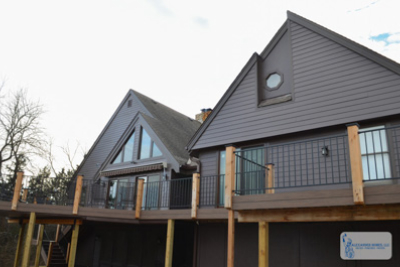 Deck and Home Exterior Remodel