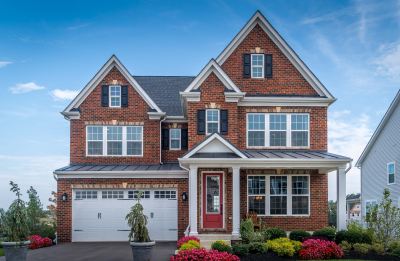 beautiful luxury colonial traditional estate model view